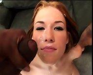 Allie Sin & Astrid - Cum Glazed - scene 11