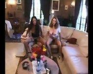 2 hairy pussy french girls fucked - scene 9