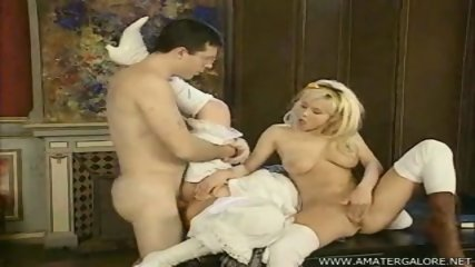 Svetlana and her cute friend in 3way - scene 9