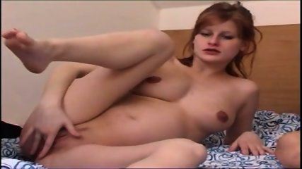 pw - pregnant redhead anal 3some - scene 2
