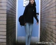 pissed her pants in public - scene 3