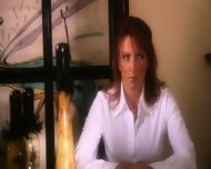 Hillary Scott Lesbian scene in Corruption - scene 1