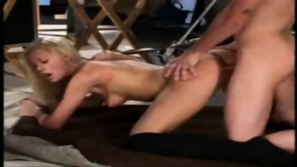 Blond Girl gets it Doggy Style - scene 6