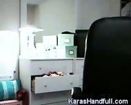 Kara - Webcam Show - scene 10