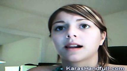 Kara - Webcam Show - scene 1