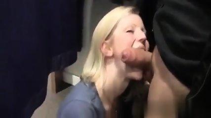 Blonde Sucks Like A Pro