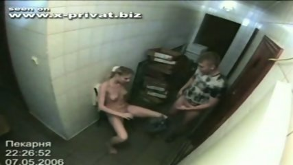 security cam fuck - scene 4