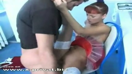 redhaired russian girl fucked in kitchen - scene 11