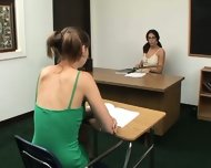 Faith and Cindy Teacher Lesbian - scene 1