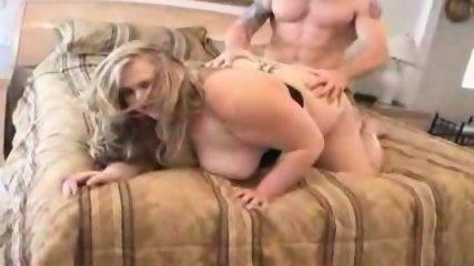 Adorable blond BBW fuck - scene 11