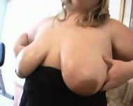 Adorable blond BBW fuck - scene 2