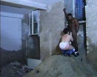 Stairwell plumper - scene 2
