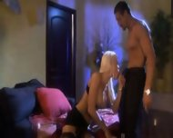 blonde and a guy - scene 1