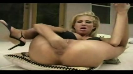 blonde fisting herself very hard - scene 8