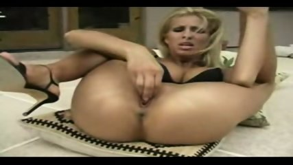 blonde fisting herself very hard - scene 11