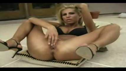 blonde fisting herself very hard - scene 1