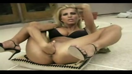 blonde fisting herself very hard - scene 3