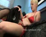 Lipstick Lesbian Orgy 2 - scene 8