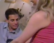 Brandy Scott TS whore visits a client at home! - scene 4