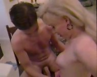 Brandy Scott TS whore visits a client at home! - scene 7