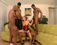 Tiny Haily and Four Big Black Men - scene 5