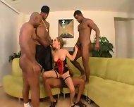 Tiny Haily and Four Big Black Men - scene 5