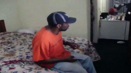 Black BBW Threesome - scene 1