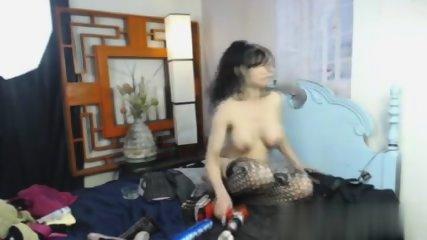 Busty Babe Fucks Her Pussy - scene 5