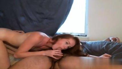 Redhead Babe Pounded - scene 7