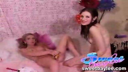 Baylee and Tobi in a lesbian scene - scene 9