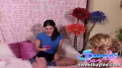 Baylee and Tobi in a lesbian scene - scene 2