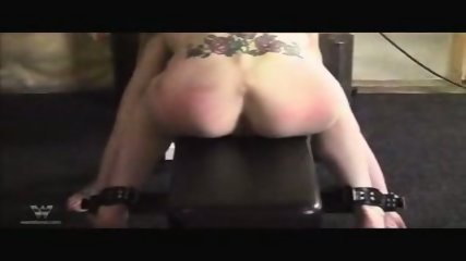 Lesbian Dildo and Spank - scene 11