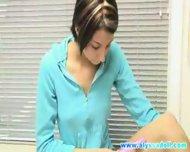 Alyssa Doll Kitchen Toying - scene 1