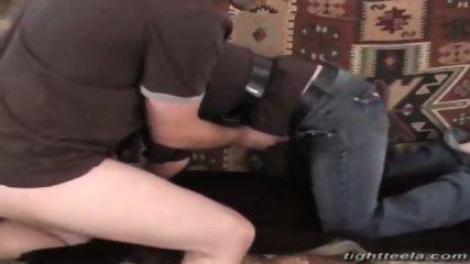 Tight Teela giving a blowjob - scene 10