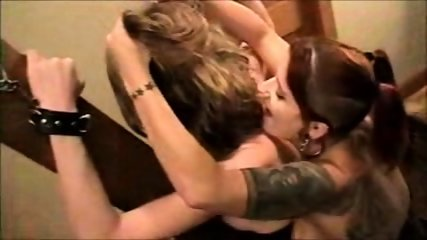 Mandy Tgirl ass fucked with a Strap-On Dildo! - scene 11