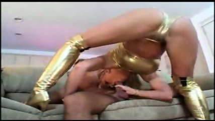 Kerkove Gold Dress - scene 3