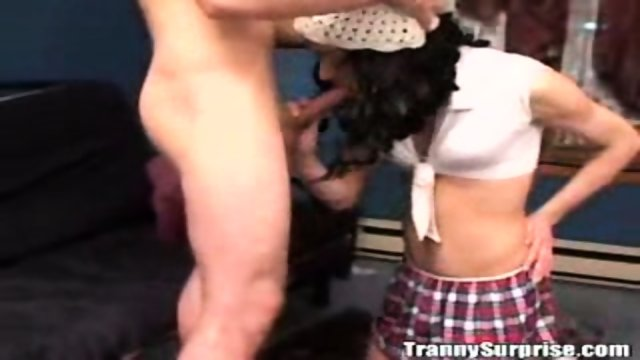 Teen Transvestite is fucked up her ass! 1