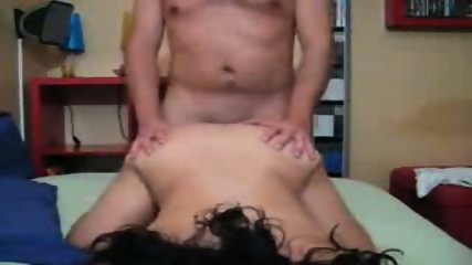 Husband and wife make their first fuck video - scene 7