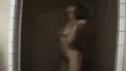 Sex cheerleader touches herself in the shower - scene 7