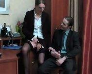 Mature secretary office fuck - scene 3
