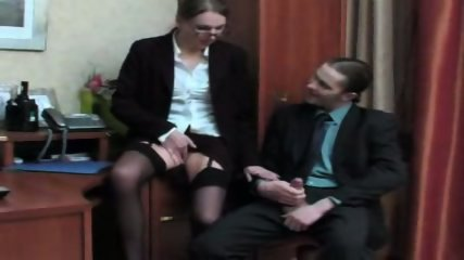 Mature secretary office fuck - scene 3