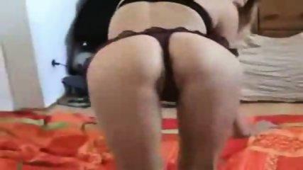 Solo blonde girl masturbates and cums - scene 1