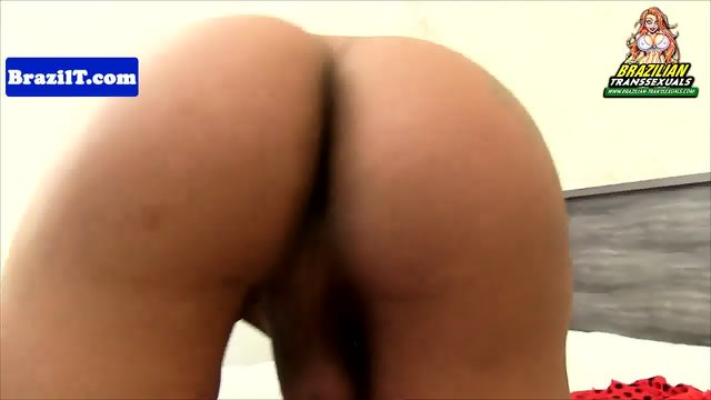 Shemale latina jerking and shows bigtits off