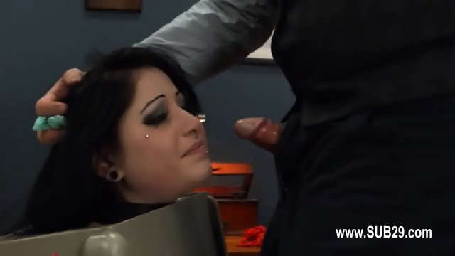 BDSM hardcore action with ropes and hot sex