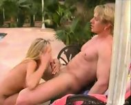 Some action at the pool - scene 10
