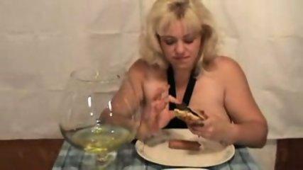 carol and her scat dinner - scene 10