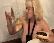 carol and her scat dinner - scene 5