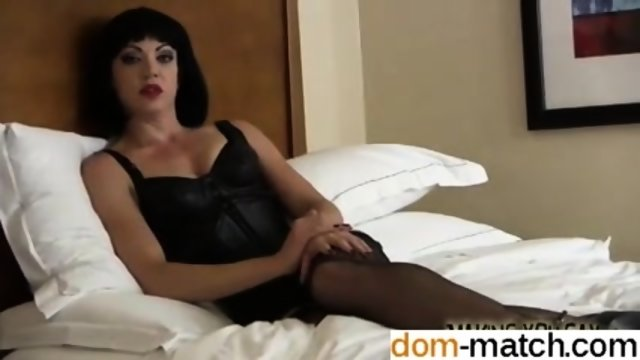 Find me from DOM-MATCH.COM - Suck dick for your domina