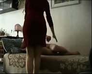 Homemade MILF and Guy - scene 9
