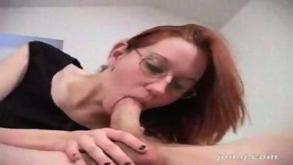 Smokey redhead blowjob - scene 6